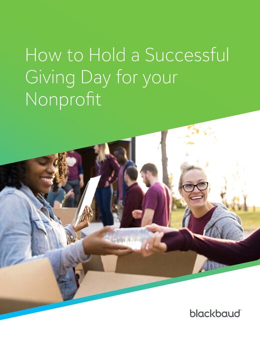 How to Hold a Successful Giving Day for your Nonprofit