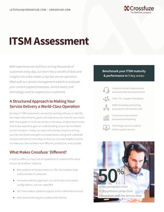 Crossfuze ITSM Assessment