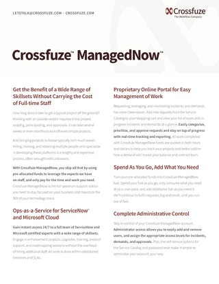 Crossfuze ManagedNow