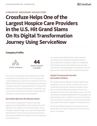 Crossfuze Case Study-HospicePartner