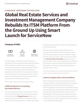 Crossfuze Case Study-RealEstate