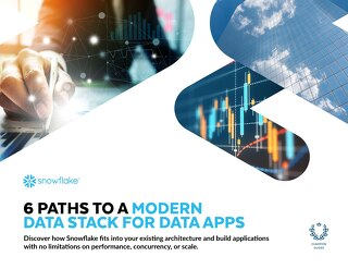 6 Paths to a Modern Data Stack for Data Apps