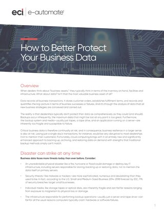 How to Better Protect Your Business Data
