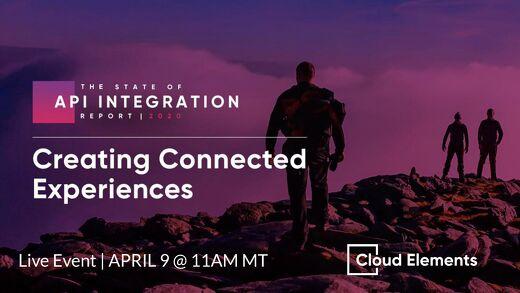 [Slides]: 2020 State of API Integration Live Event