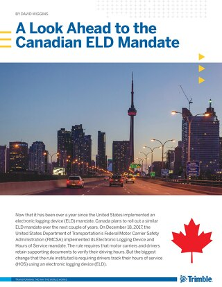 ELD Mandate White Paper (Canada) - English