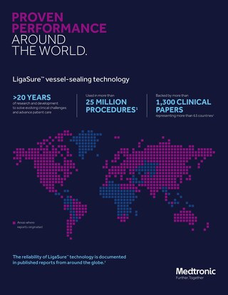 Infographic: LigaSure™ Technology in Thyroidectomy