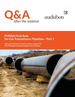 Q&A Gas Transmission Webinar May 2020