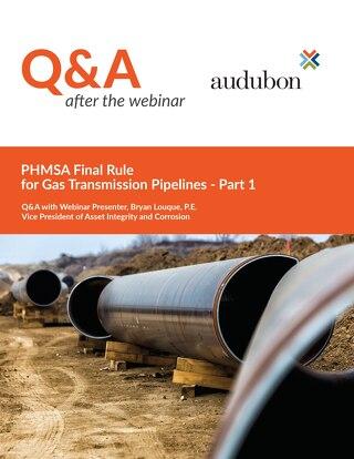 Q&A Gas Transmission Webinar