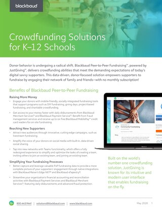 Crowdfunding Solutions for K-12 Schools
