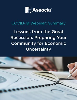 COVID-19 Webinar Summary: Lessons from the Great Recession: Preparing Your Community for Economic Uncertainty