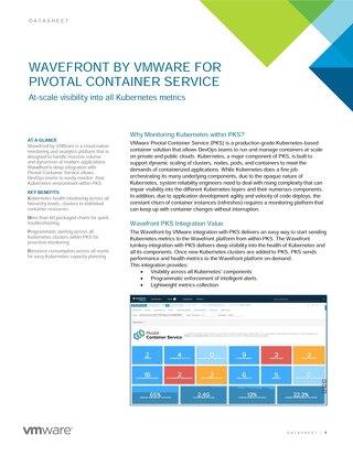 Datasheet: Wavefront PKS