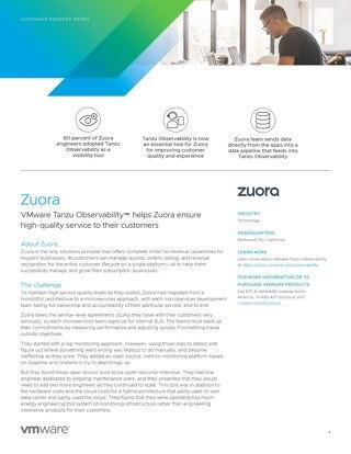 Case Study: Zuora
