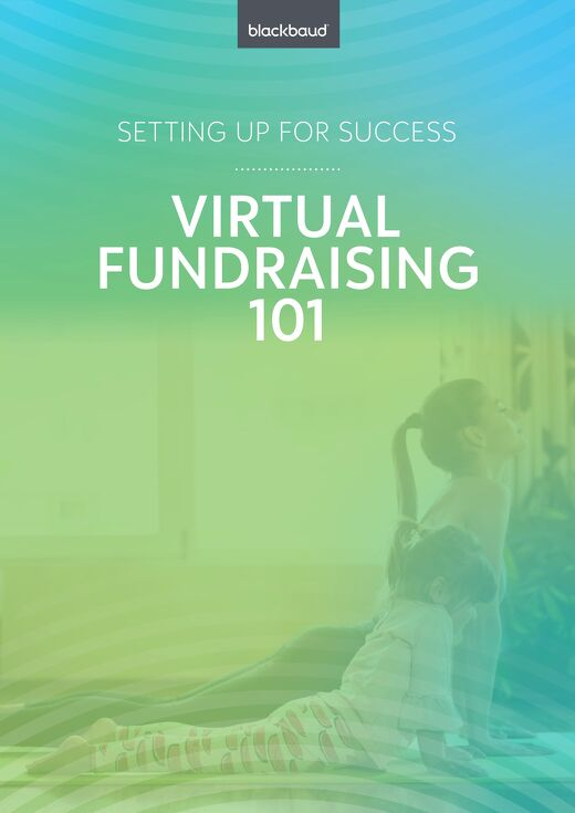 Virtual Fundraising 101 eBook