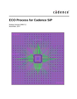 ECO Process for Cadence SiP