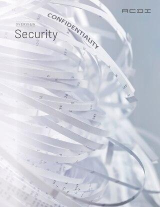 PaperCut Security Feature Sheet