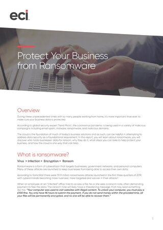 Protecting Business from Ransomware UK