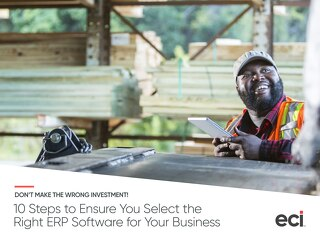 10 Steps to Select ERP ebook