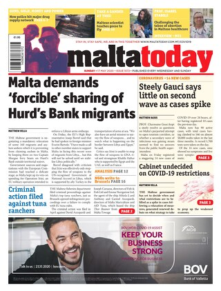MALTATODAY 17 May 2020