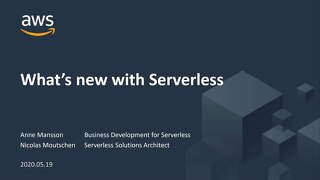 AWS webinar_What's New in Serverless_20200519