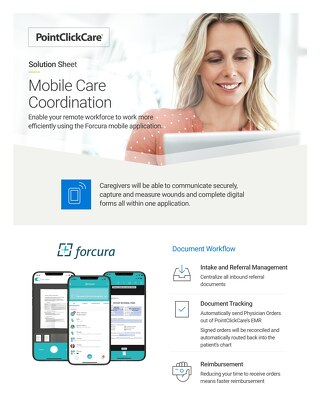 Solution Sheet: Mobile Care Coordination