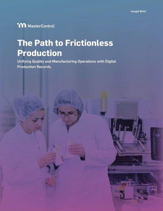 The Path to Frictionless Production