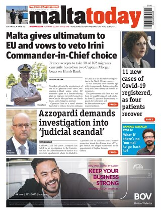 MaltaToday 20 May 2020 MIDWEEK