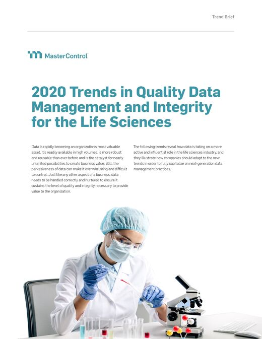 2020 Trends in Quality Data Management and Integrity for the Life Sciences