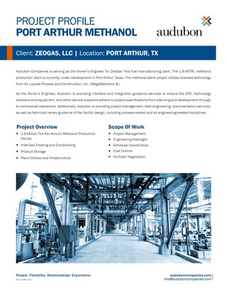 Port Arthur Methanol