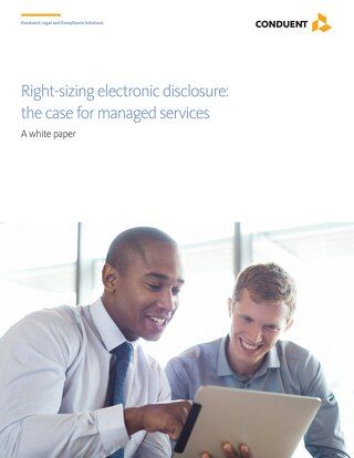 Right-sizing Electronic Disclosure_UK
