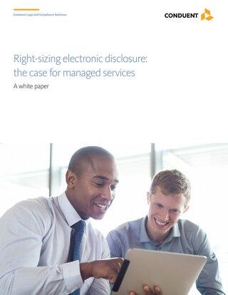 Right-sizing Electronic Disclosure_UK