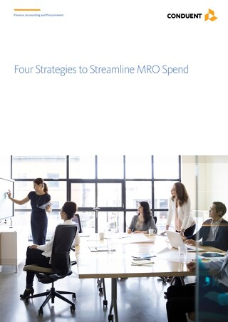 Whitepaper: Four Strategies to Streamline MRO Spend