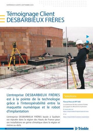 DESBARBIEUX Frères et la stratégie numérique