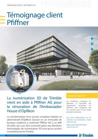 Pfiffner AG rénova l'ambassodor House