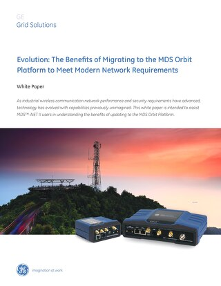 White Paper: Migrating to the MDS Orbit Platform to Meet Modern Network Requirements