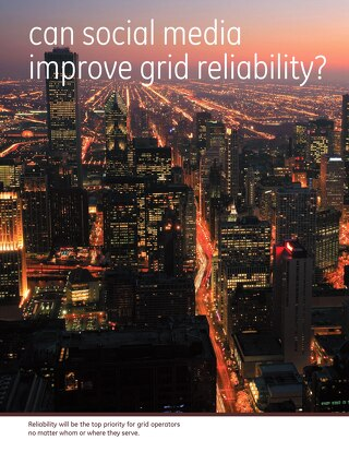 White paper: can social media improve grid reliability?