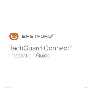 TechGuard Connect Installation Guide
