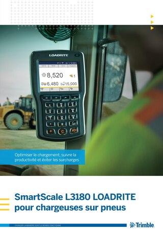 Trimble LOADRITE L3180 Brochure - French