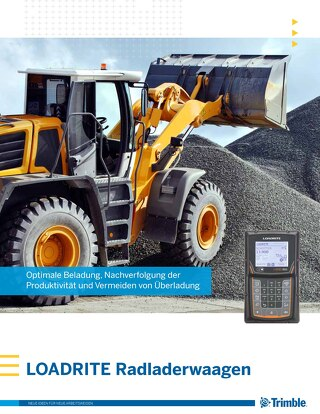 Trimble LOADRITE L2180 - L2150 Brochure - German