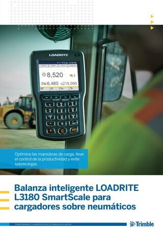 Trimble LOADRITE L3180 Brochure - Spanish
