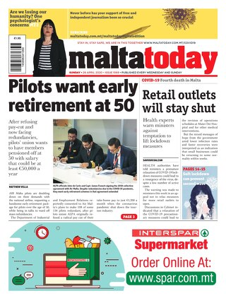MALTATODAY 26 April 2020