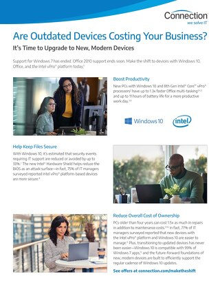 Are Outdated Devices Costing Your Business?  It's Time to Upgrade.