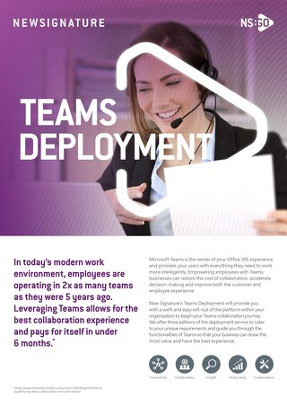 NS:GO Teams Deployment 2020
