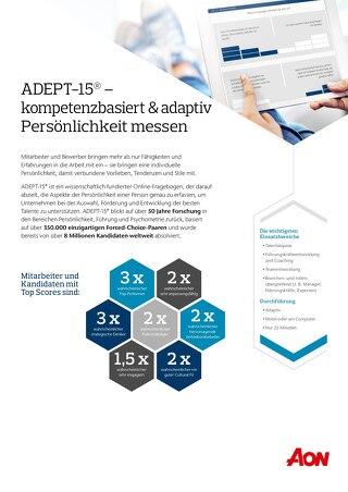 ADEPT-15® Flyer