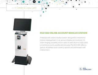 RSX1000 Account Revalue Station
