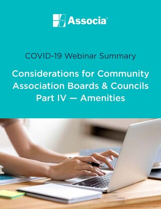 COVID-19 Webinar Summary - Part 4