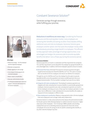 Conduent Severance Solution®