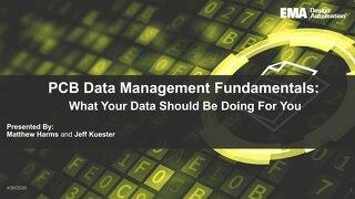 PCB Data Management Fundamentals Webinar Slides