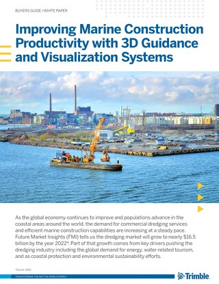 Marine Construction Productivity White Paper - English