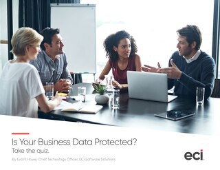 Is Your Data Protected Quiz ebook -AUS