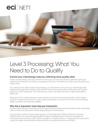 Level 3 Processing
